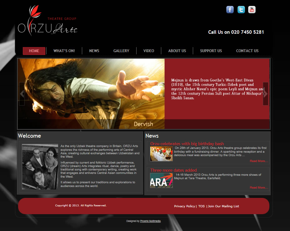 orzuarts  Web Design orzuarts