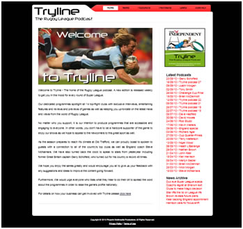 tryline  Web Design tryline