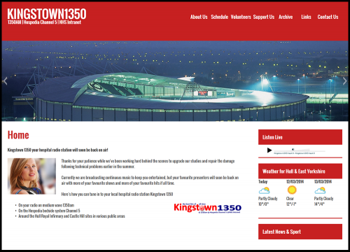 kingstownradio  Phoenix creates new radio station website kingstownradio1 500x360