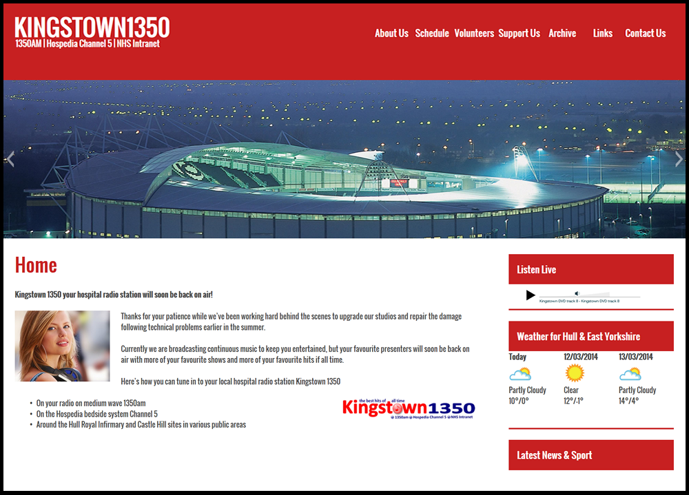 Phoenix creates new radio station website kingstownradio1